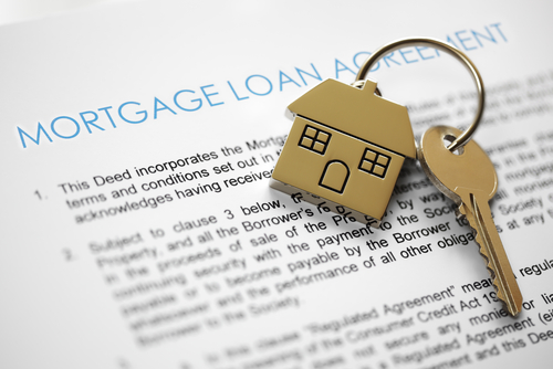 mortgage loan application for buying a home